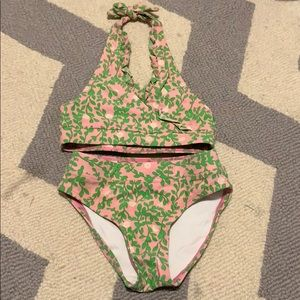 Used Lily Pulitzer bikini 3T